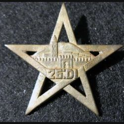26° DI : 26° division d'infanterie Maroc Drago Paris G. 1375 métal ajouré