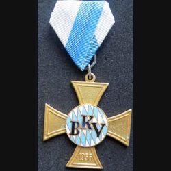 ALLEMAGNE : Medaille BKV 1956 Bayerische Kameraden und Soldatenvereinigung de fabrication Deschler Munich