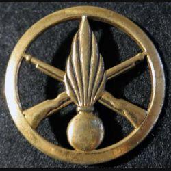 INFANTERIE : Insigne de béret infanterie L. Bichet Livry-Gargan