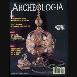 1. Archeologia mensuel n°29 / Juin 1923 - Chantier de fouilles pour l'été
