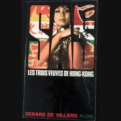 1. SAS Les trois veuves de Hong-Kong de Gérard de Villiers aux éditions Plon