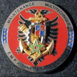 Bataillon du Matériel de la 9° DIMA de la Force Multinationale de Protection ALBANIE Boussemart