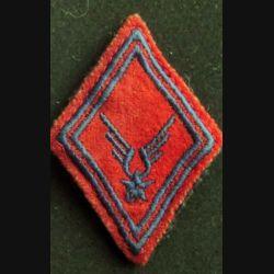 losange de bras modèle 45 : insigne tissu de l'ALAT Artillerie troupe