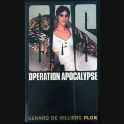 1. SAS Opération apocalypse de Gérard de Villiers aux éditions Plon