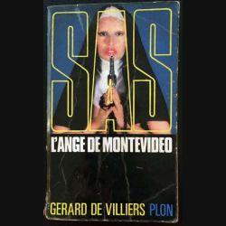1. SAS L'angle de Montevideo de Gérard de Villiers aux éditions Plon