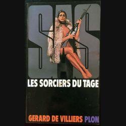 1. SAS Les sorciers du Tage de Gérard de Villiers aux éditions Plon
