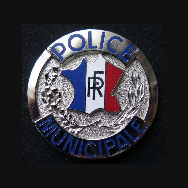 Insigne m tallique de la police municipale cannes pour for Police cannes