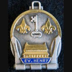 E.V. HENRY : Aviso Escorteur E.V. HENRY Augis Lyon en émail