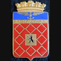 B.A.N. LANDIVISIAU: base aéronavale de Landivisiau Arthus Bertrand Paris en émail