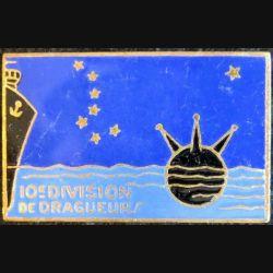 10° DD : 10° division de dragueurs Drago Paris en émail