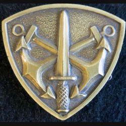 insigne de béret de commandos Marine non titulaire Drago Paris