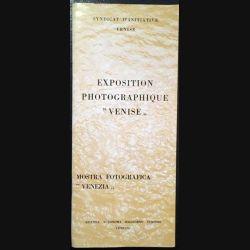 """1. Exposition photographique """"Venise"""" du syndicat d'initiative Venise"""