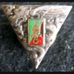 2° REP : insigne métallique en réduction du 2° régiment étranger de parachutistes de fabrication Drago