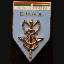 EMGA BF : insigne métallique de l'Etat Major général des Armées du Burkina Faso