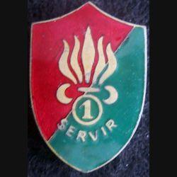 1° Régiment de marche des volontaires étrangers Drago Béranger émail