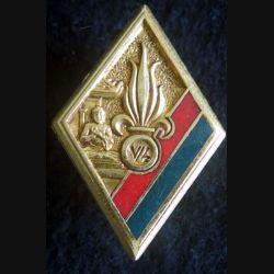5° Bataillon du 4° REI Extrême Orient Drago Paris en émail