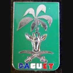 DAGUET: insigne métallique de la division DAGUET Delsart Sens