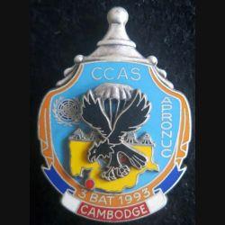 1° RCP CCAS 3° BAT 1993 APRONUC Cambodge Ballard