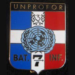 Bataillon d'infanterie N°7 de l'UNPROFOR 7° DB 3° RC Drago