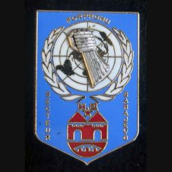 HQ Secteur SARAJEVO FORPRONU 3° mandat 1993 Balme Saumur