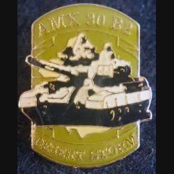 DESERT STORM : pin's métallique du char AMX 3 B2 de fabrication Sesa
