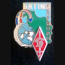 10° DB : insigne métallique de la 10° Division blindée BATINF FORPRONU de fabrication Delsart Sens
