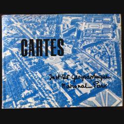 1. Cartes 1964 à l'Institut Géographique National Paris