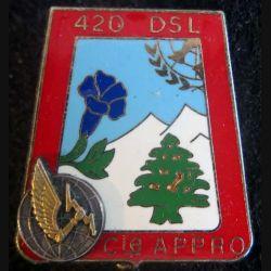Compagnie appro du 420° DSL FINUL 17° mandat