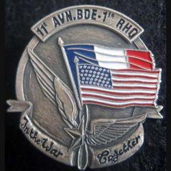 1° RHC et 11th Aviation Brigade opération Desert storm JY Ségalen