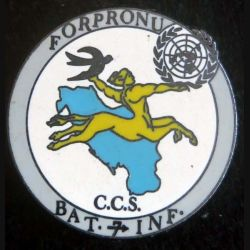 7° DB CCS BATINF de la FORPRONU de fabrication Delsart