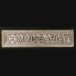 "BARRETTE ""COMMISSARIAT"""