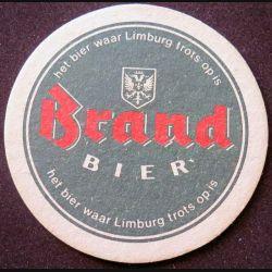 DESSOUS DE VERRE A BIÈRE Brand Bier de diamètre 9,8 cm