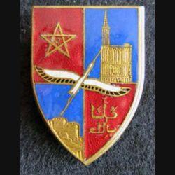 2° division d'Infanterie marocaine Drago Paris en émail