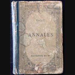 1. Tacite annales texte latin de Émile Jacob aux éditions Librairie Hachette & Cie