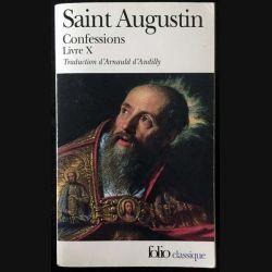 1. Confessions Livre X de Saint Augustin aux éditions Gallimard