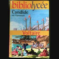 1. Candide ou l'Optimisme de Voltaire aux éditions Hachette