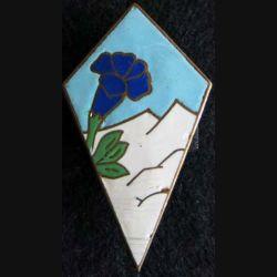 27° division d'infanterie alpine en émail attache cassée