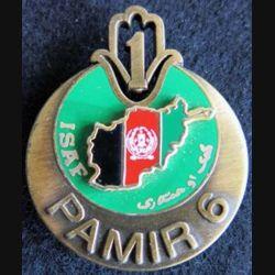 1° régiment de tirailleurs ISAF PAMIR 6 Afghanistan J.Y Ségalen
