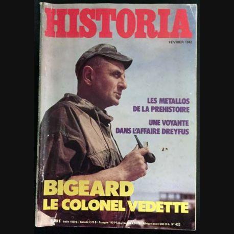 1. Historia n°423 Février 1982 Charles V / Les aztèques / Jacquou le croquant / La mission rougier