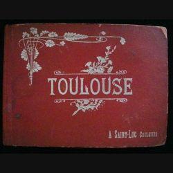 ALBUM DE CARTES POSTALES TOULOUSE