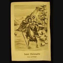 IMAGES PIEUSES : SAINT CHRISTOPHE NOUS PROTÈGE