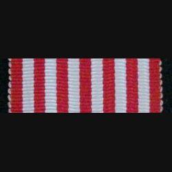 FRANCE : ruban de la médaille commémorative d'Italie de longueur 14 cm