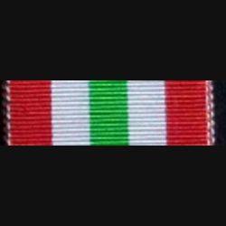 GRANDE BRETAGNE : RUBAN DE LA MÉDAILLE ITALY STAR