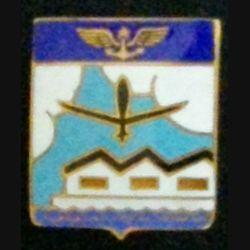 ERC : insigne métallique de l'escadrille de réception et de convoyage de fabrication Drago Romainville en émail