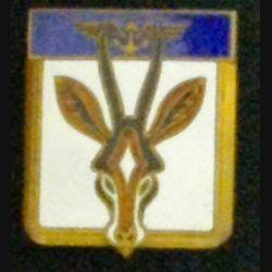 FLOTILLE 21 F : insigne métallique de la Flotille 21 F de fabrication Drago Paris en émail 2 boléros