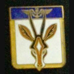 FLOTILLE 21 F : insigne métallique de la Flotille 21 F de fabrication Drago Paris en émail