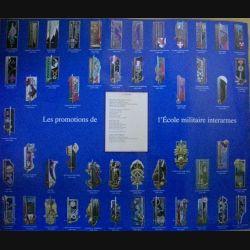 0. PLANCHE DES PROMOTIONS DE L'ECOLE MILITAIRE INTERARMES